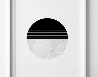 Scandinavian art, best selling items, modern marble print, Mid Century Modern Art, geometric print, modern wall poster, minimalist poster