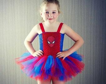 Spider man tutu dress