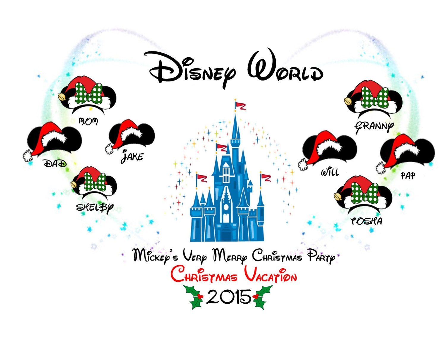 Mickey's Very Merry Christmas Party, Christmas Vacation 2017/2018 ...