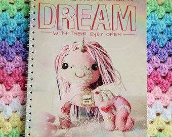 Dream - A5 Spiral Bound Notebook, 100 blank pages