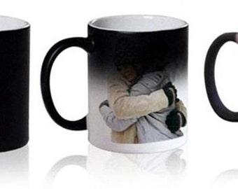 Personalised Colour Changing Mug - Your photo / Logo / Phrase / Drawing!