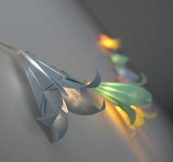 Target Origami String Lights : 10 LED Origami Flower Fairy Lights / String Lights