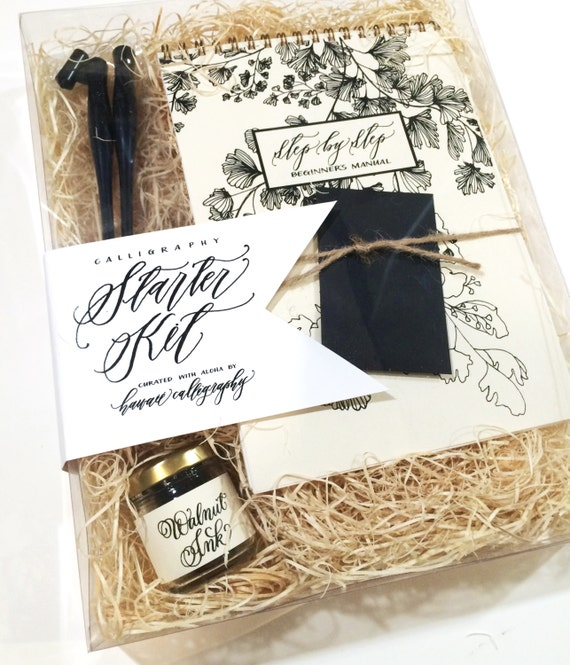 Calligraphy starter kit everything you need by