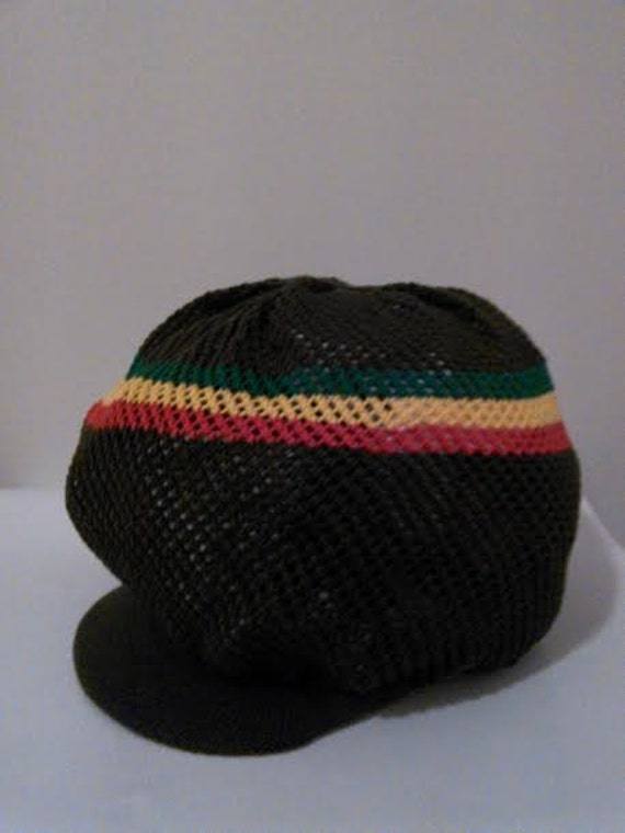 Knitting Patterns For Rasta Hats : RASTA REGGAE Knitted Hat by ARTISTICTEES3 on Etsy