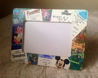 Disneyland Parks Collage Frame (4x6)