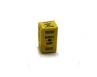 Borax Soap Box Dolls House Miniature