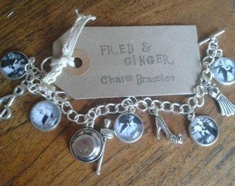 Fred & Ginger inspired Charm Bracelet