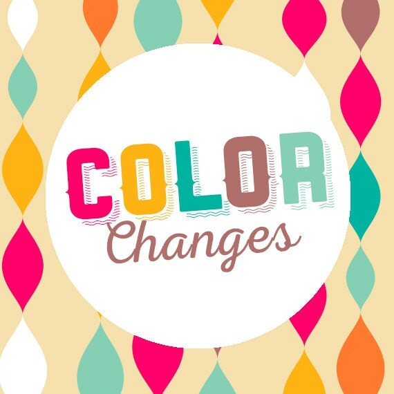 Cheap Design Changes That Have: Add On _ Custom Color Change By LyonsPrints On Etsy