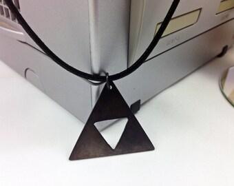Legend of Zelda Super Smash Bros Inspired Emblem Pendant Necklace - Video Game Jewelry