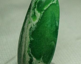 Emerald Green Variscite Freeform Cabochon 41 X 15 mm