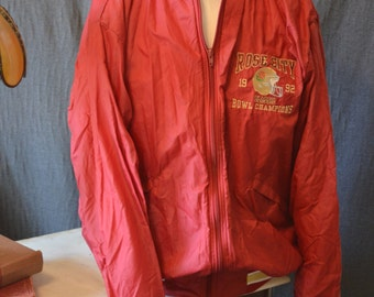 Vintage Rose City Bowl Champions Classic 1992 Red Jacket (Size: Large)