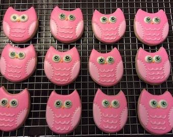 Owl Sugar Cookies (12)