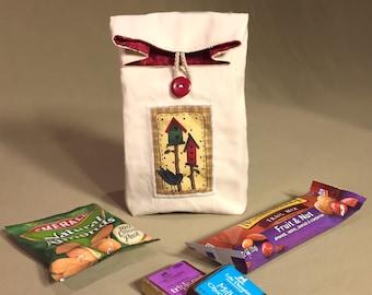 The Little Snack Sack - Birdhouse Theme