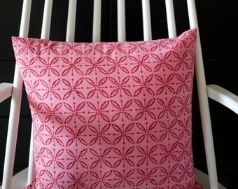 "block printed cushion cover ""Lilo"""