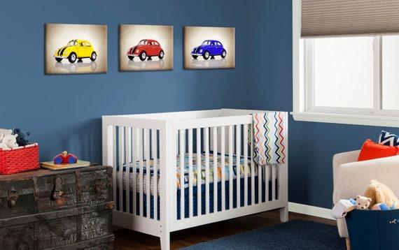 Discount Set Of 3 Volkswagen Beetleboys Room By IprayStudio