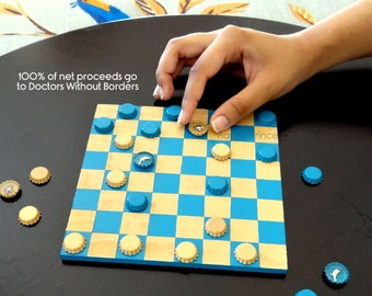 Checkers: Land and Sea - 100% of Net Proceeds to Doctors Without Borders