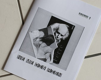 Do not tell me nothing - fanzine