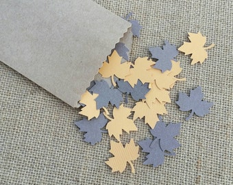 Thanksgiving Table Scatter, Thanksgiving Table Confetti, Autumn Leaves Confetti, Confetti Leaves, Scrapbooking, Table Scatter, 100