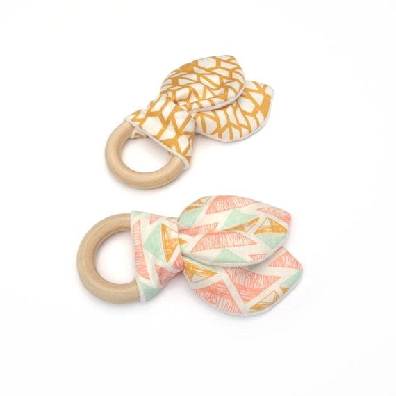 Baby Boy Gift Gold : Items similar to aztec teething rings baby girl boy