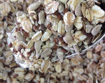 Wholegrain mix for granola, trailmix, oatmeal, breads, pastry 300gr