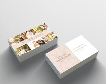 Business Card Template - 2 Sided Business Card Design