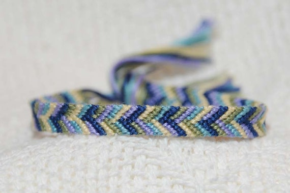 MultiColored Braided Weaved Knotted Embroidery Floss