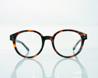 John Denver Eyeglass Frames : Items similar to Very RARE Hakusan vintage round eyeglass ...