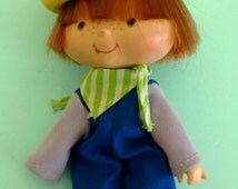 Vintage Strawberry Shortcake Huckleberry Pie Figure American Greetings 1979 Free Shipping