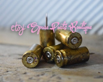 Father's Day Gift!! 9MM Bullet Push Pins- Set of 10!