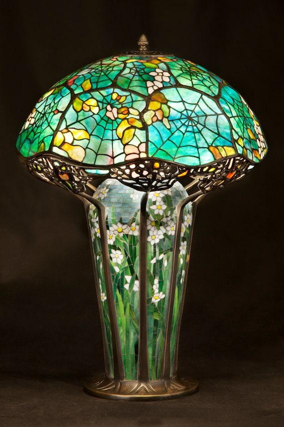 Tiffany Big Cobweb lamp