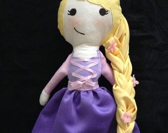 Rapunzel Rag Doll