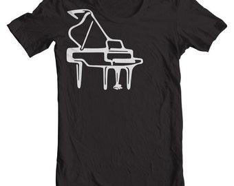 Grand Piano Gifts Piano Teacher Gift T shirts Musician Gifts Hipster Shirts Learn Piano Piano Keys. Music Shirts Piano T shirts Piano Player