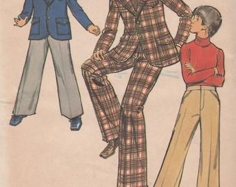Butterick 6962 Boys Blazer Jacket & Pants Sewing Pattern - Boys Clothing Sewing Pattern - Uncut Sewing Pattern - Retro Sewing Pattern