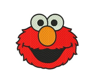 Elmo Embroidery Design - 3 sizes Instant Download