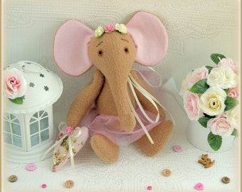 Fabric stuffed elephant soft toy Stuffed Animals gift for children cloth toy Mother's Day слон мягкая игрушка plush soft toy