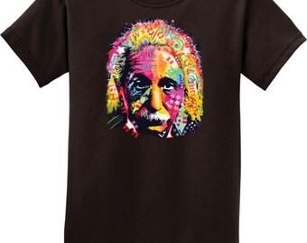 Kid's Funny Shirt Einstein Tee T-Shirt 18486NBT4-PC61Y