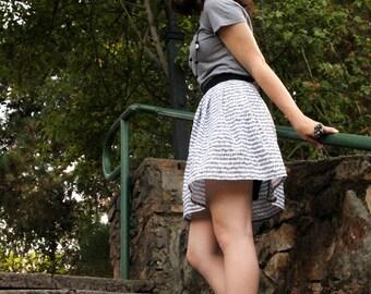 Sheet Music Pleated Skirt