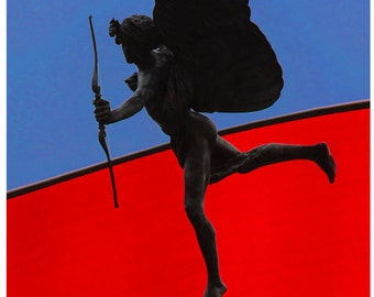 Eros Statue the God of Love Piccadilly Circus London