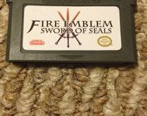 Fire Emblem Sword of Seals Fan Made Custom Game Boy Advance Game. GBA GameBoy Binding Blade