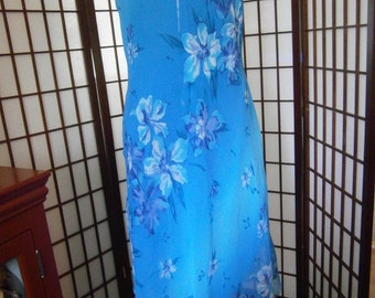 Women's Sheer Long Dress
