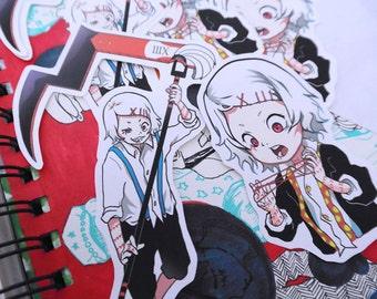 Tokyo Ghoul Juuzou Suzuya Vinyl Stickers