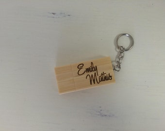 Personalized USB Flash Drive, Engraved USB Flash Drive, Thumb Drive, Photographer Gift, Logo Gift - 4GB or 8GB