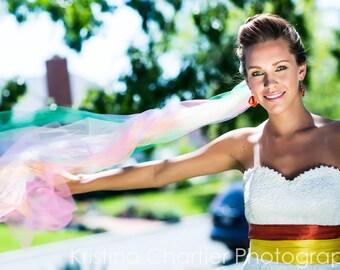 Rainbow Bridal Veil