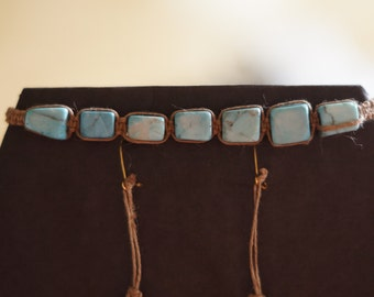 Turquoise Bracelet and Earings