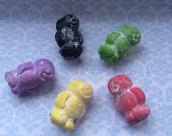 Jellybaby brooch