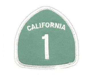 Highway 1 California Patch