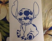 Stitch vinyl decal!  Available in all sizes/colors!