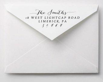 DIY Address Printing, Wedding Return Address, Calligraphy Envelope Address