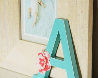 Wooden alphabet letters etsy for Standing wood letters to paint