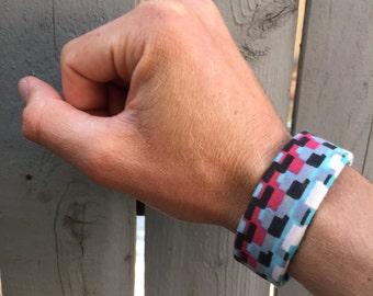 Retro Activewear Slap Bracelet